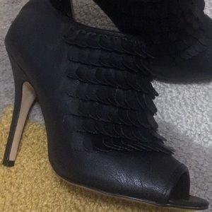 Black baker booties